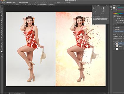 Фотошоп как сделать красивое фото с эффектами